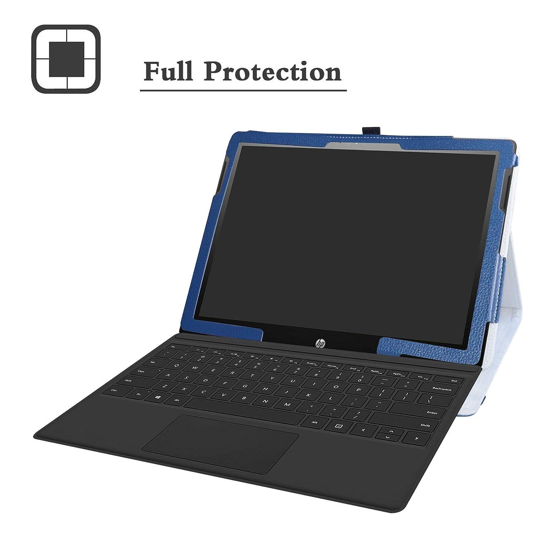 Amazon.com: LiuShan - Funda de piel sintética para tablet HP ...