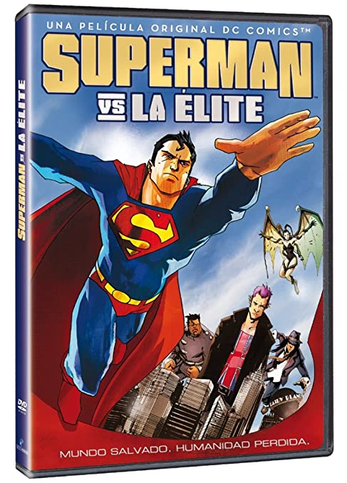 Superman Vs. La Elite [DVD]: Amazon.es: Michael Chang: Cine y ...