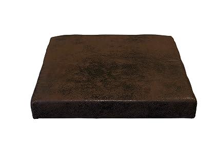 Mexo Bianco Dimensioni Lap: 40x6x36//38 cm Cuscino in Similpelle per panche AVANTI TRENDSTORE Disponibile in 3 Diversi Colori