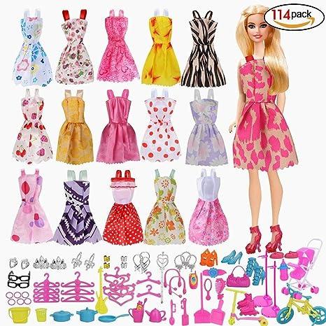 Beito Accesorios Barbie Accesorios De Vestir Para Muñecas