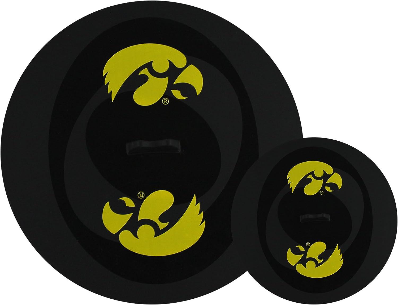 Black Fanpans MasterPieces NCAA Iowa Hawkeyes Tailgate Lid Topperz