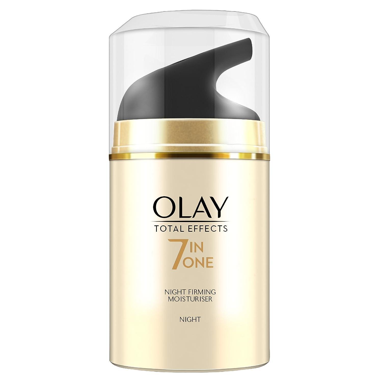 Olay - Total effects, 7 - in - 1 hidratante anti edad de noche - 50 ml: Amazon.es: Belleza