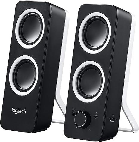Logitech Z200 2.0 Altavoces Estéreo, 10 Vatios, Sonido Estéreo ...