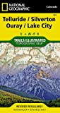 Telluride, Silverton, Ouray, Lake City (National Geographic Trails Illustrated Map, 141)