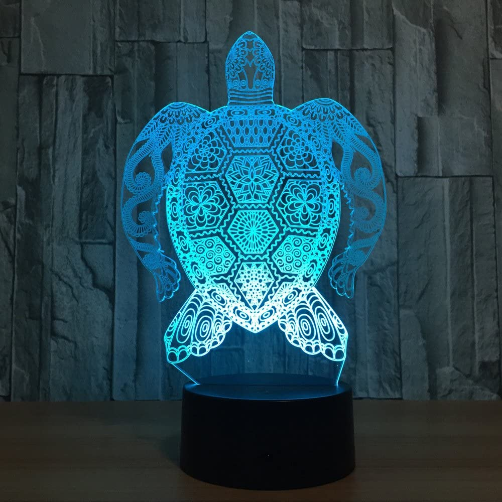 Sea Turtle 3D Night Light