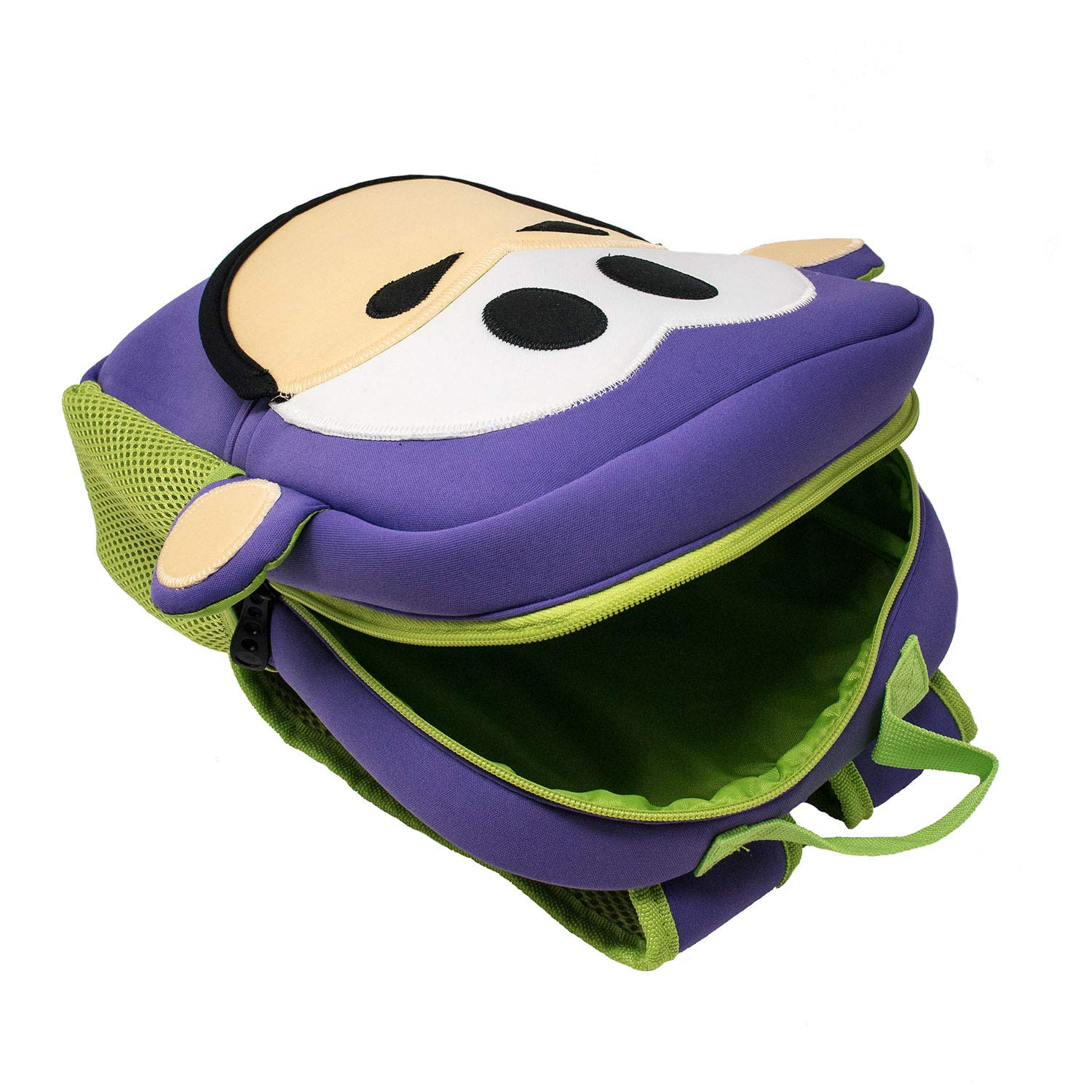 Purple Washable Kids Bag by Animal Packers Nay Nay Toddler Mini Monkey Backpack