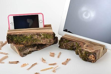 Set de 3 caseros funda escritorio de madera soportes para ...