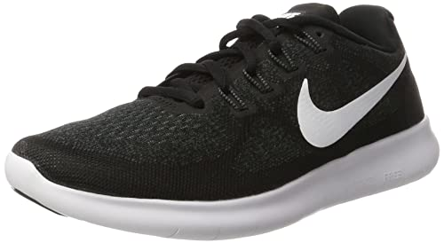 da265e443 Nike Men's Free RN 2017 Training Shoes, Black/White-Dark Grey-Anthracite