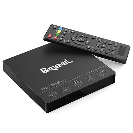 Bqeel 3G/32G TV Box Amlogic S912 Octa Core Android 7 1 Box Dual WiFi  2 4+5 8G Android TV Box Bluetooth 4 0 HD Smart TV Box H 265 Video Decode 4K