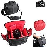 Para Nikon D5600: Impermeable Anti-choque DSLR SLR Camera Case bolsa con cubierta de lluvia Caja de protecci