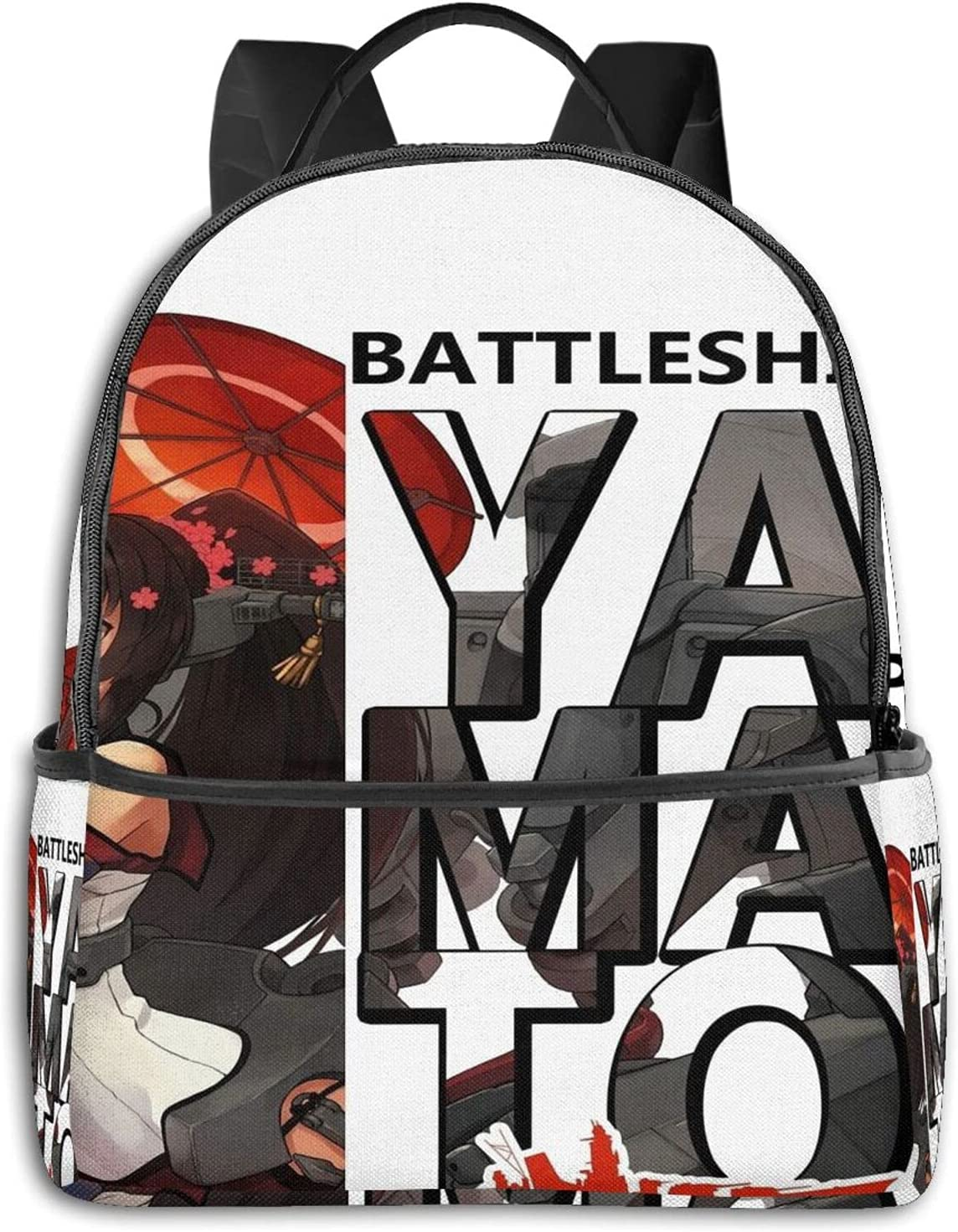 Yamato Kancolle Kantai Collection Battleship Graphic Student School Bag School Cycling Leisure Travel Camping Outdoor Backpack