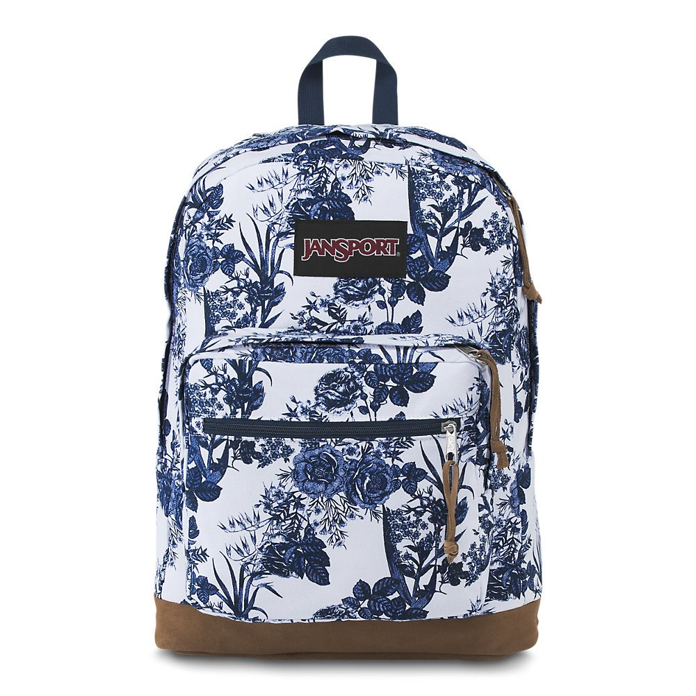 29c44ddc45bf Amazon.com  JanSport Right Pack Expressions Laptop Backpack - White Artist  Rose  Computers   Accessories
