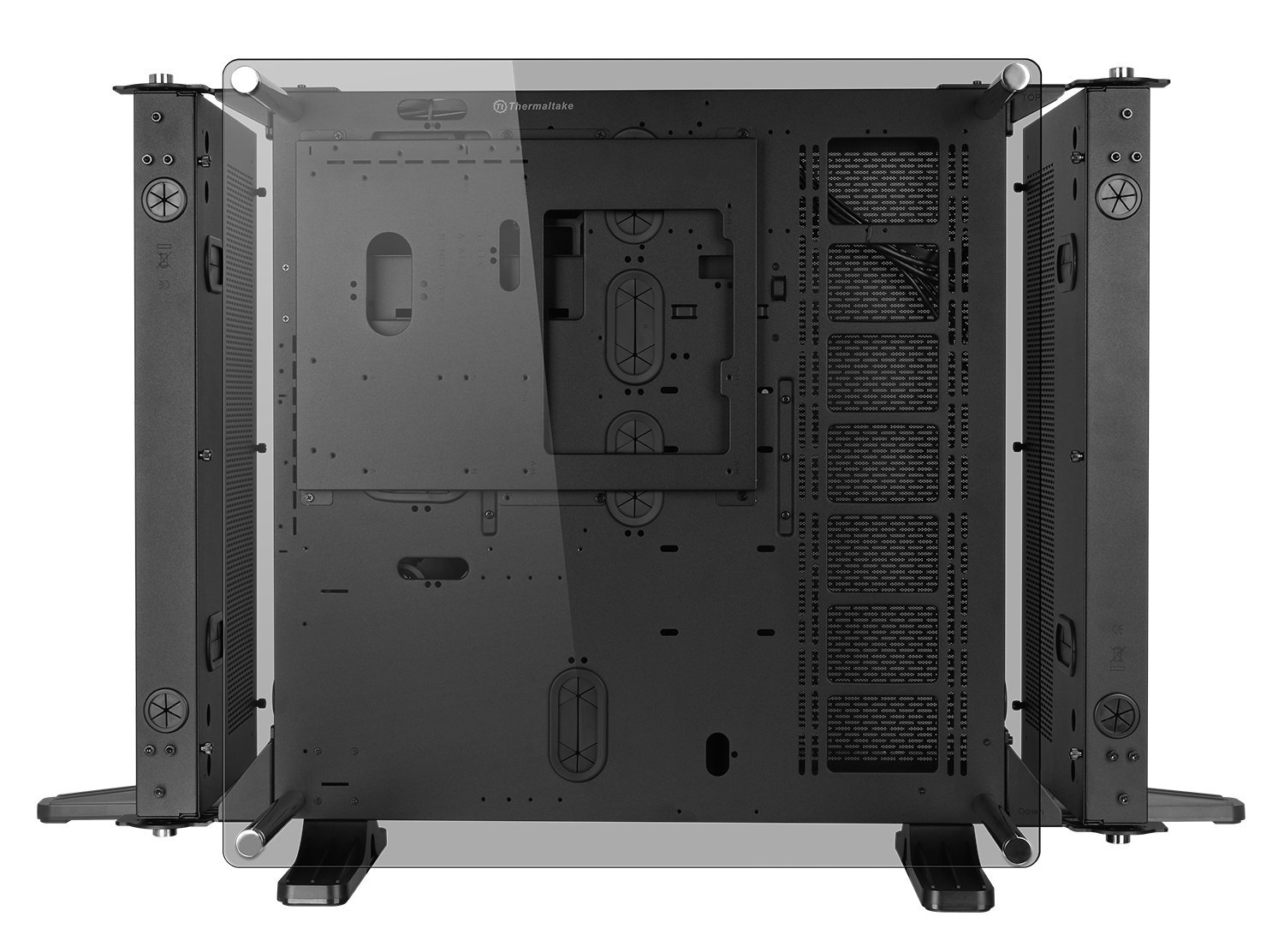 Thermaltake Core P7 Tempered Glass Edition E-ATX Open Frame Panoramic Viewing Tt LCS Certified Gaming Computer Chassis CA-1I2-00F1WN-00 by Thermaltake (Image #2)