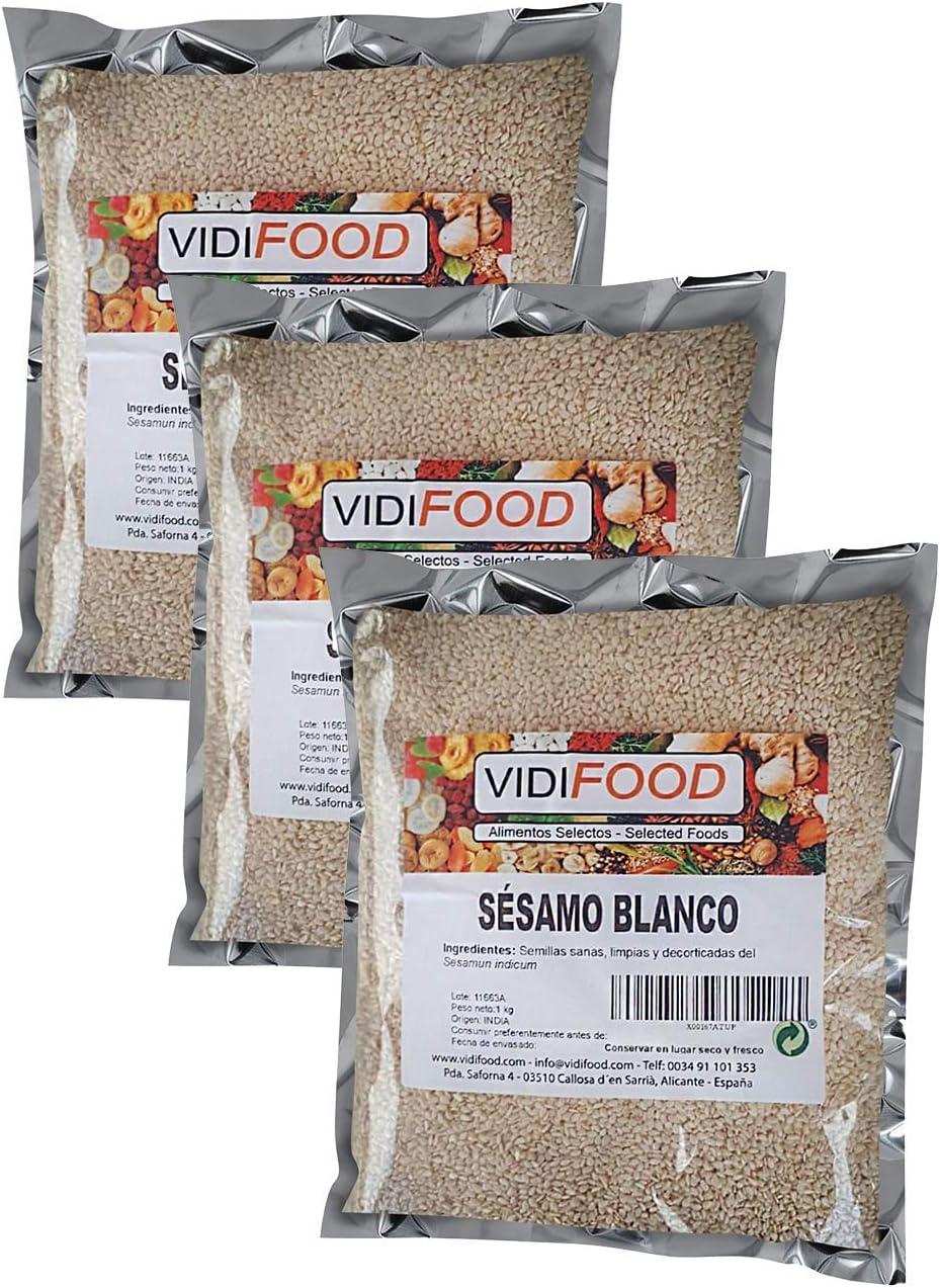 Semillas De Sésamo Blanco - 3kg - Condimento Con Sabor A Nueces Para Platos Cetogénicos Y Veganos - Semillas Crujientes Y Sabrosas: Amazon.es: Alimentación y bebidas
