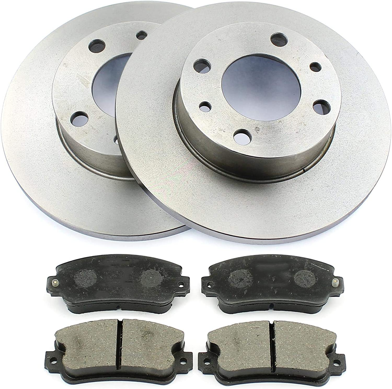 Bremsen-set Vorne Bremsscheiben Bremsbel/äge /Ø 227mm Voll//massiv NB PARTS GERMANY 10038261