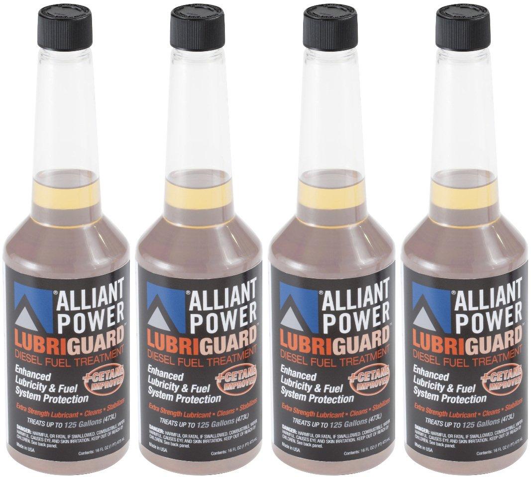 Alliant Power LUBRIGUARD Diesel Fuel Treatment - 4 Pack of Pints # AP0510