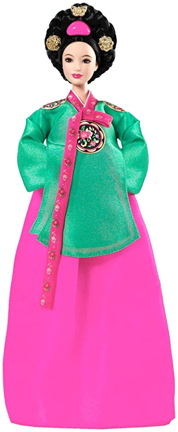 Have asian barbie costume princess pity