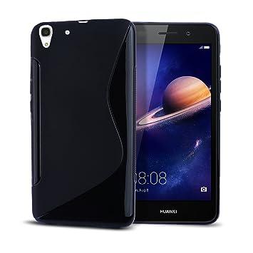 Huawei Y6 II Funda,bdeals S-Style Soft TPU Gel Cubierta Delgado ...