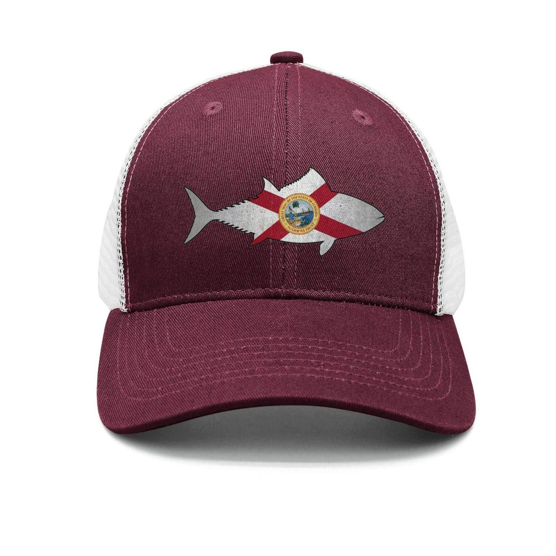 Orange Florida State Flag Men//Women Vintage Hip Hop Hat Baseball Cap
