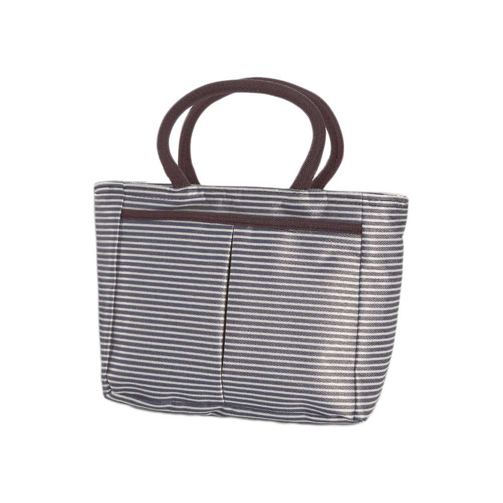 0eb9542bf0b3 Funnuf Insulated Lunch Tote Bag Resuable Zipper Bento Cooler Box ...