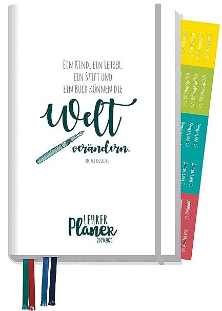 Agenda de profesores 2019/2020 A5+ [Cambiar el mundo ...