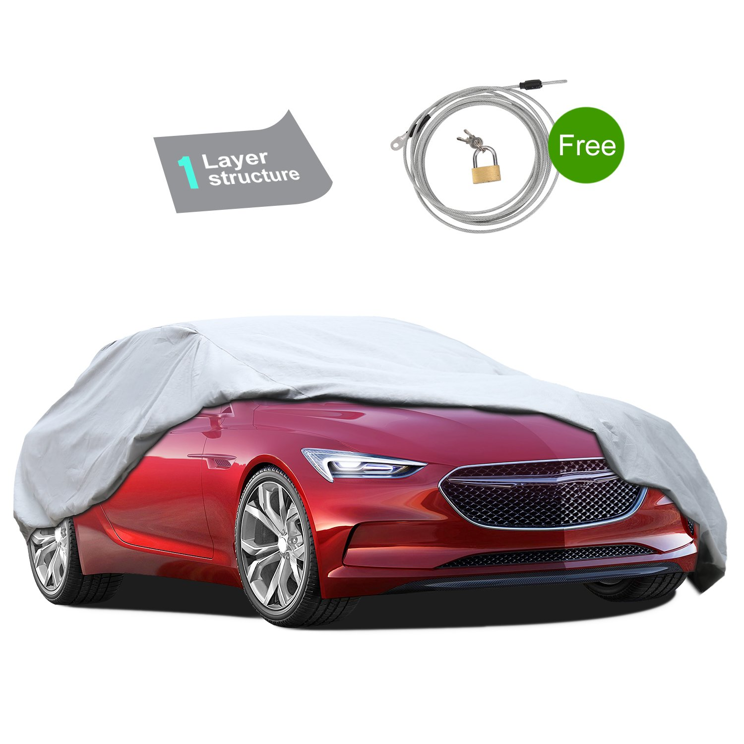 Waterproof Car Cover For  Dodge Stealth