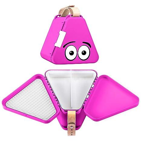 Brotdose und Spie Teebee Kinderkoffer für Spielzeug und Reise I Organizer