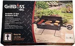 Amazon.com : Blue Rhino Deluxe Outdoor LP Gas BBQ Grill ...
