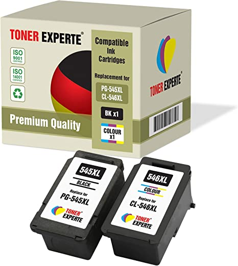 Pack de 2 XL TONER EXPERTE® Compatibles PG-545XL CL-546XL ...