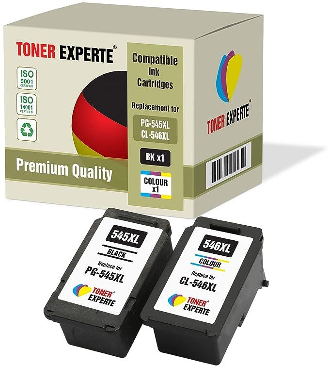 PG545 PG-545XL CL546 CL-546XL TONER EXPERTE® 2 XL Cartuchos ...