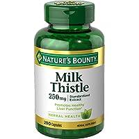 Thuốc bổ gan Nature's Bounty Milk Thistle Pills