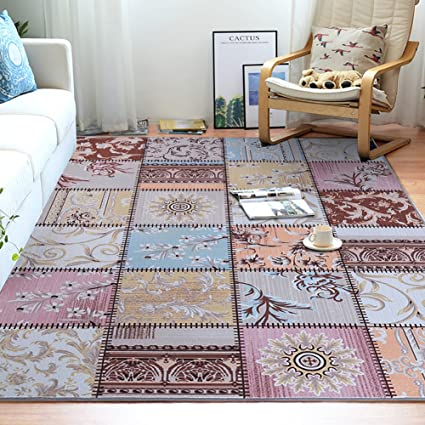 Amazon Junovo Contemporary Geometry Collection Area Rug For