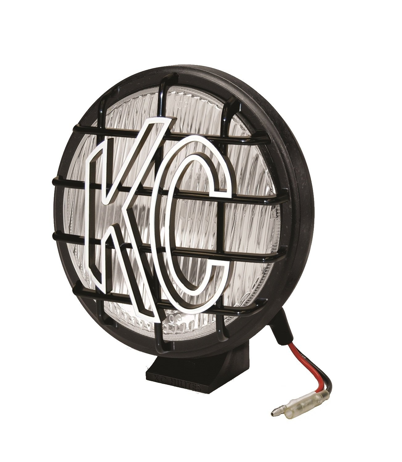KC HiLiTES 1152 Apollo Pro 6'' 100w Single Fog Light with Integrated Stone Guard