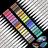 Metalliska tuschpennor, Funnasting Metalliska pennor 30 färger Metalliska färgpennor för kortframställning, fotoalbum…