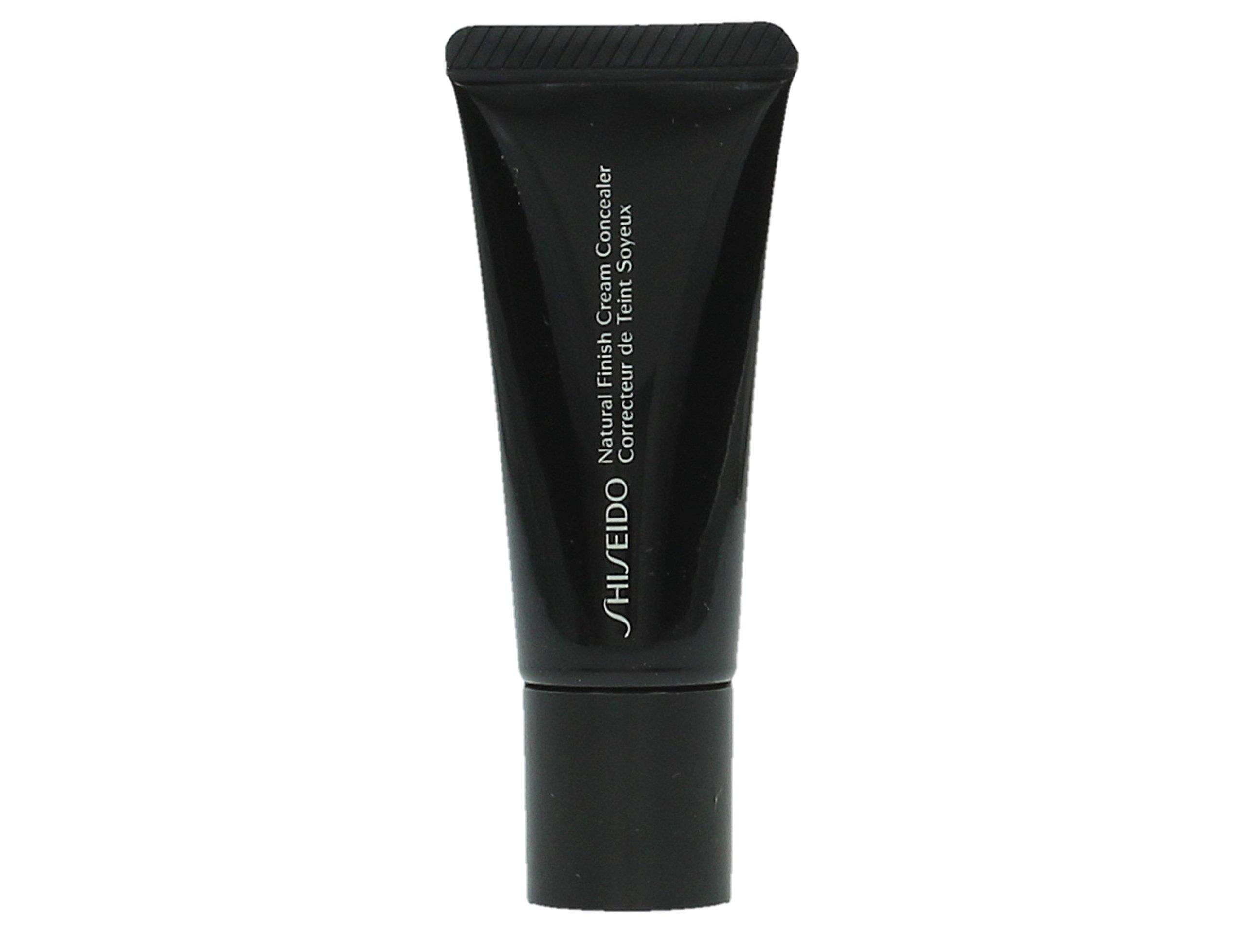 Shiseido Natural Finish Cream Concealer for Women, 3B/Medium Beige, 0.44 Ounce