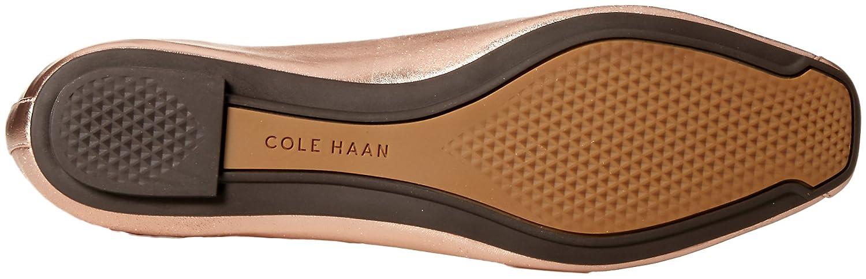 Cole Haan Women's Downtown Ballet Flat B073SQ87N6 8.5 B(M) US Rose Gold