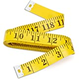 Bestty 120 inches Double Scale Soft Tape Measure Flexible Ruler for Weight Loss Medical Body Measuremen Sewing Tailor Cloth Ruler (300cm/120inch)