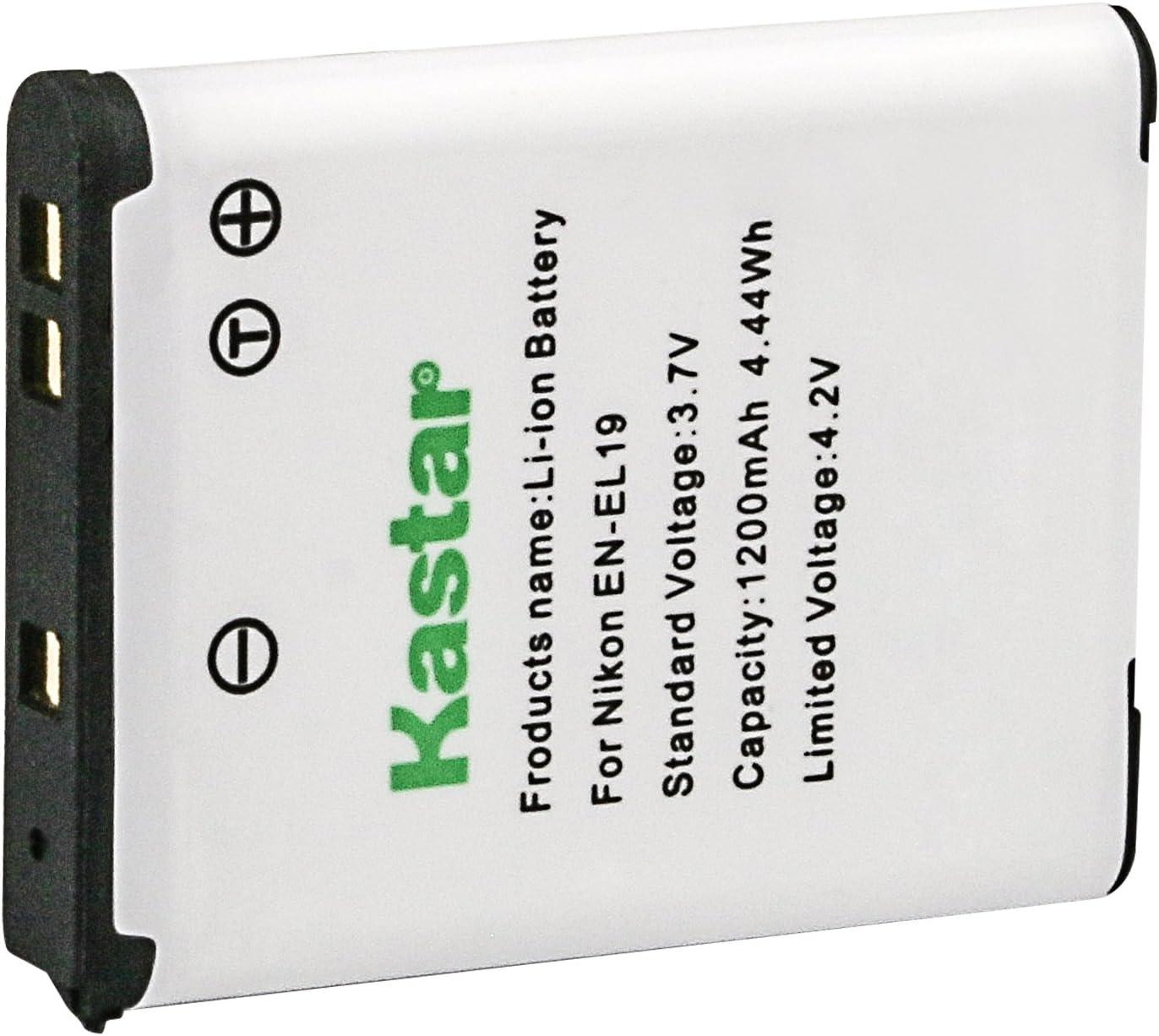 S2550 S4150 Batería EN-EL19 ENEL19 para Nikon CoolPix S2500 S4100 S3100