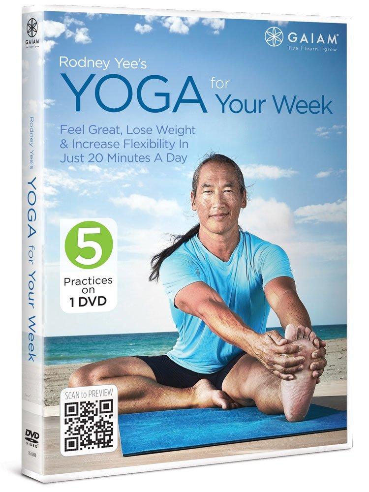 Rodney Yees Yoga for Your Week [Reino Unido] [DVD]: Amazon ...