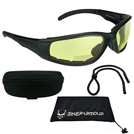 9baffe2a17b6 Image Unavailable. Image not available for. Color: Motorcycle Bifocal  Sunglasses ...