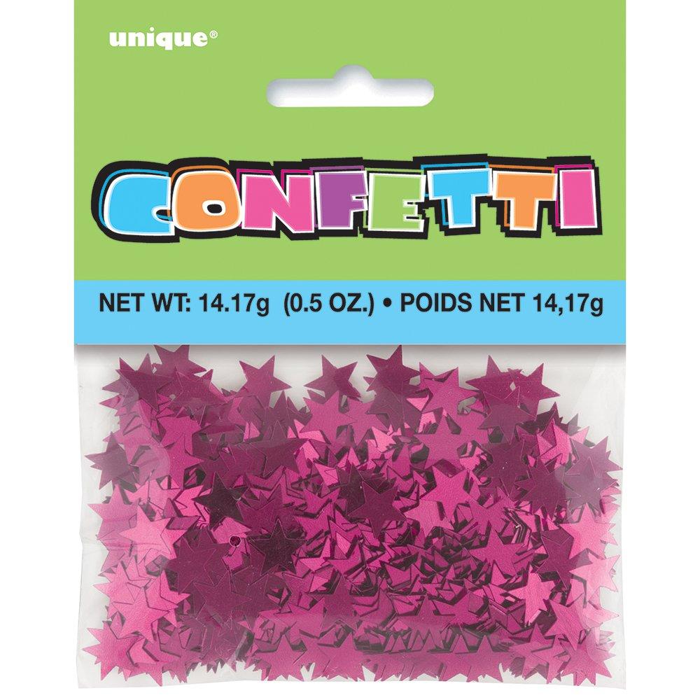 Unique Party Confetti con forma de estrella Color azul 91116