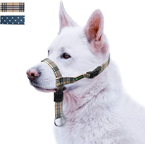 ILEPARK Cuello de Cabeza de Perro, Arnés para Cabeza para Perros ...
