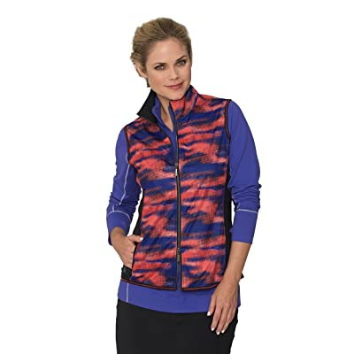 Chase54 Womens Roxette Water Resistant Full Zip Vest