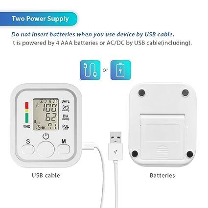 Sanitas SBM 21 - Tensiómetro de brazo, vollautomatische de presión arterial y pulso en la Parte Superior del Brazo con arrhythmie de detección: Amazon.es: ...
