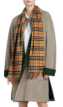 ad0d85cf8334 BURBERRY - Echarpe - Femme Marron Check Vintage Taille unique ...