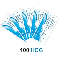 LOVEXOK HCG Urine Pregnancy Test Strip,HCG Test Strip,100 Count