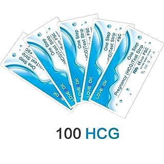 LOVEXOK HCG Urine Pregnancy Test Strip 100 Count Egens