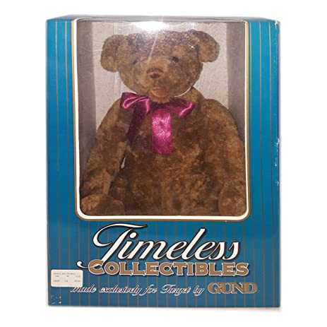 Amazon.com: Vintage Gund Timeless Collectible Teddy Bear Exclusively ...