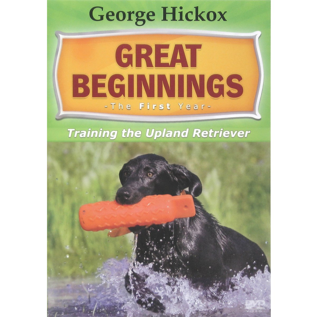 D.T. Systems Great Beginnings Training The Upland Retriever DVD by D.T. Systems