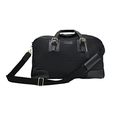 Amazon.com  Coach Signature Cabin Bag Luggage Carry On Duffle F77085 in  Black  Shoes 527ba5c1615c3